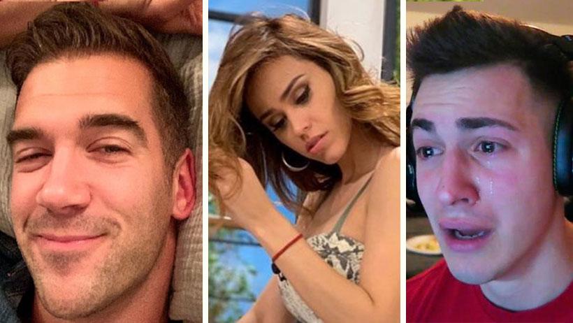 Casual que Yanet García le mete mano a su novio en pleno vuelo y todo Instagram se entera