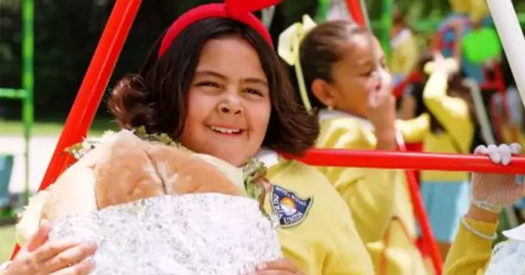 ¿Recuerdas a Polita de Vivan los Niños? Pues cambió la torta por fotos chabochas