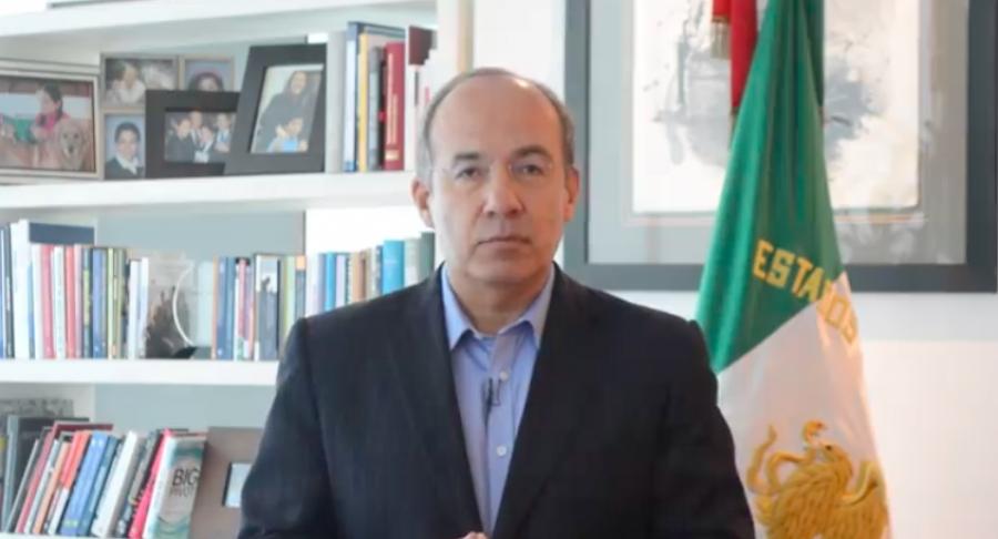 Calderón responde: La verdad ni siquiera recuerdo cómo llegué hasta la Presidencia, estaba pedísimo