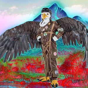 Esta impreshionanti Águila es todo un caballero que siempre anda bien firme y determinando. Eso sí, no te metas con él porque te atacará con todo. Vuela libre.