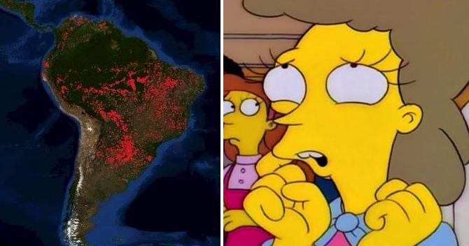 Confirman que publicar 3 cosas del Amazonas al día apagará el incendio