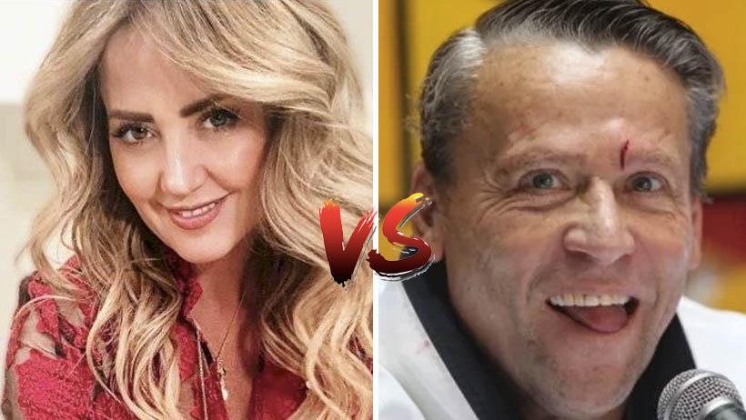 Alfredo Adame soltó la sopa sobre infidelidad de Andrea Legarreta y así le contestó ella