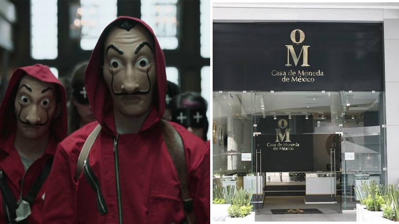 ¿Llegó el Profesor a México? Se roban 50 millones de pesos de La Casa de Moneda