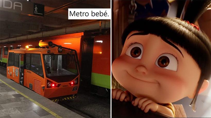 Awww: este metro ya tuvo a su primera bendición y el internet no puede con la ternura