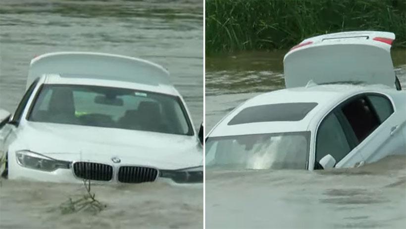 Berrinche millennial nivel: hunde al río su BMW porque él quería un Jaguar