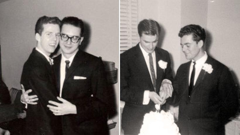 Así fue la primera boda gay en 1957, mientras que en tu pueblo siguen siendo mochos