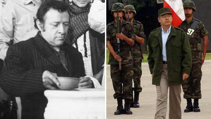 Comandante Borolas molesto de que lo comparen con Calderón