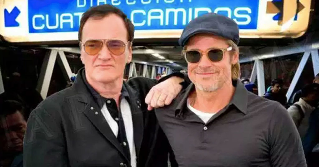 Brad Pitt y Tarantino caminarán por las calles más peligrosas de México y podrás verlos en vivo