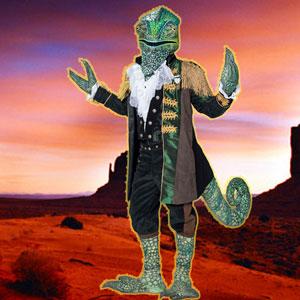 Detrás de la elegancia de Camaleón, se oculta un reptil hiperactivo y trabajador. Siempre ha vivido al límite y ni intentes ponerle tus reglas, porque él tiene entrenamiento militar.