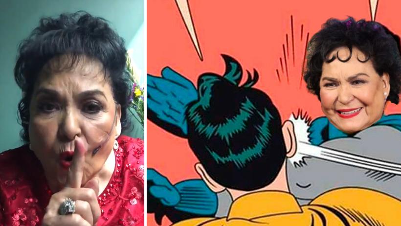 Carmen Salinas revela el método para usar la chancla y educar a tu bendición