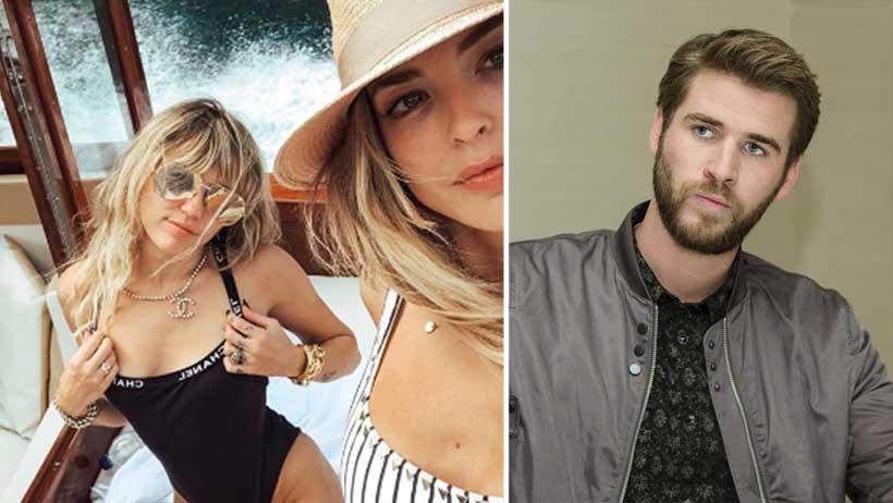 El amor sí exis… ¡Miley Cyrus deja a Liam Hemsworth por las costillitas de Kaitlynn Carter!