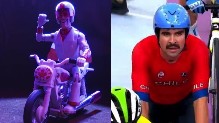 ¿Por qué el motociclista de Toy Story está en los Juegos Panamericanos?
