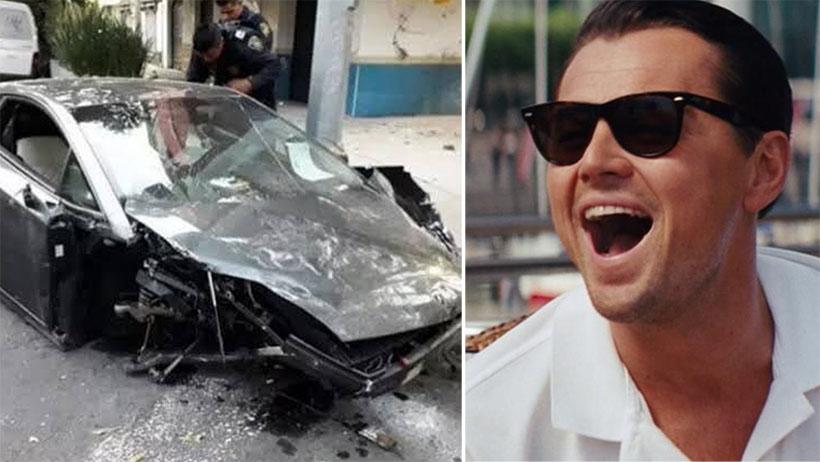 Clásico que chocas tu Lamborghini y mejor lo abandonas en plena avenida
