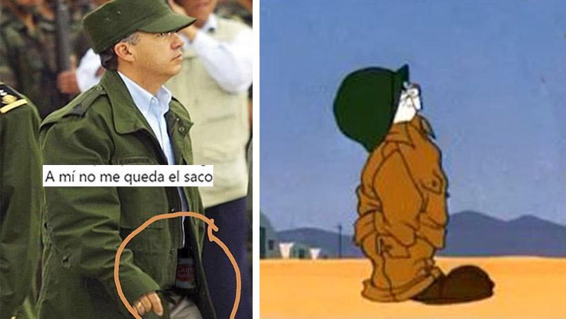 Mexicanos que no murieron en sexenio de Calderon sueltan los memes del Comandante Borolas