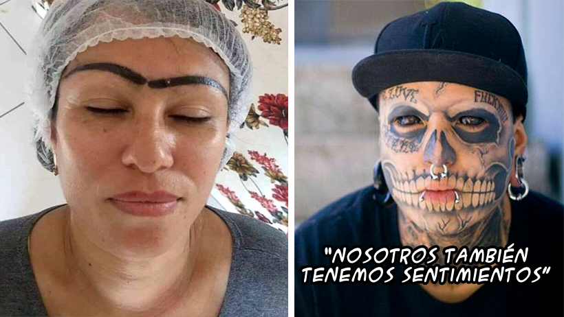 Señoras que se pintan las cejas no podrán quejarse de la gente con tatuajes: CDNH