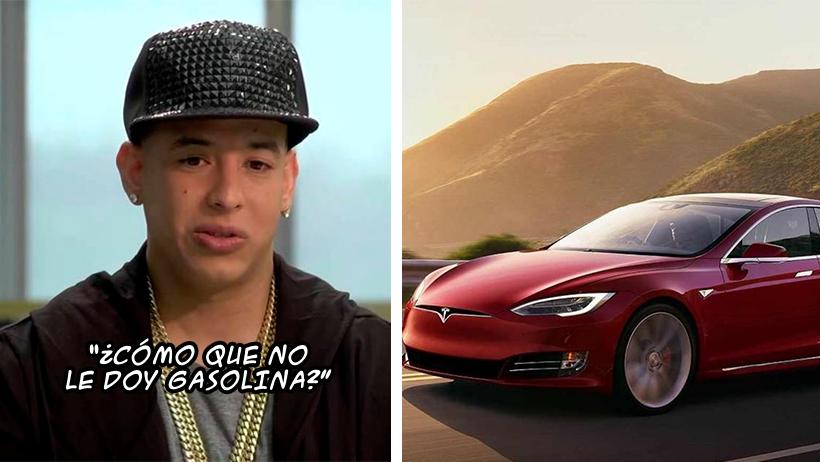 Le niegan a Daddy Yankee la compra de un Tesla porque a él le gusta la gasolina