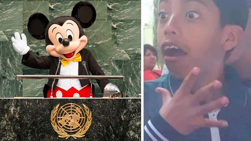 La ONU vendió los derechos del mundo a Disney y ya preparan un live-action de tu vida