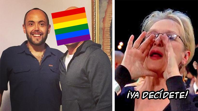 """Mauricio Clark salió a """"defender"""" a la comunidad LGBT y así se le vinieron encima"""