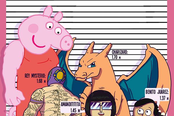 Estos personajes son más chaparros que Peppa Pig y no lo sabías