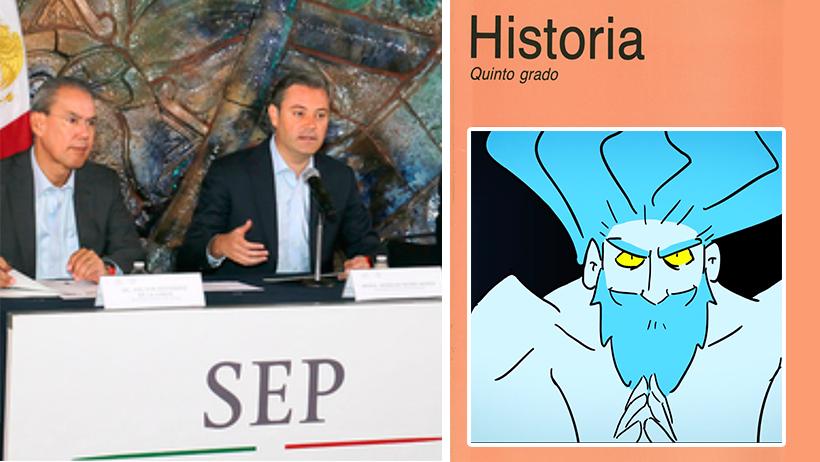 La SEP contrata a los creadores del video de Zeus para hacer todos sus libros de texto