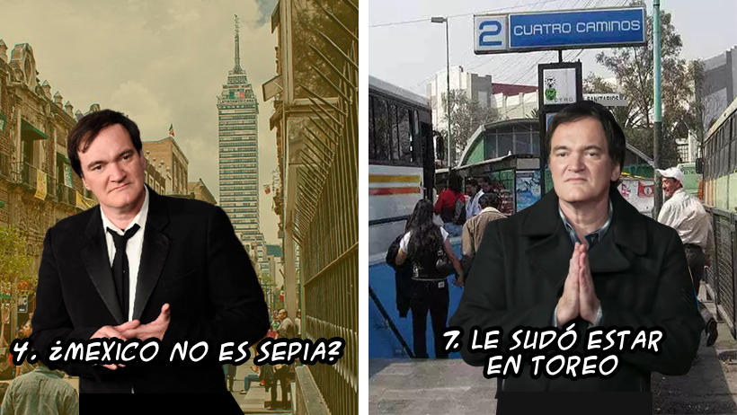 9 posibles y violentas razones por las que Tarantino canceló su visita a México