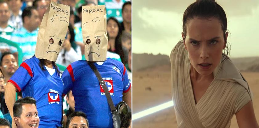 Aficionados al Cruz Azul confían en que el episodio IX de Star Wars por fin será el bueno
