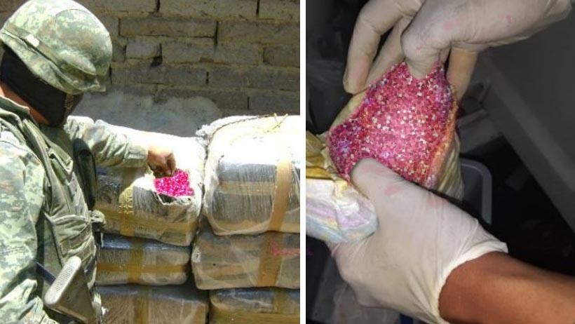 Luego del ataque a Jesús Orta, la Guardia Nacional decomisa 2 toneladas de glitter rosa