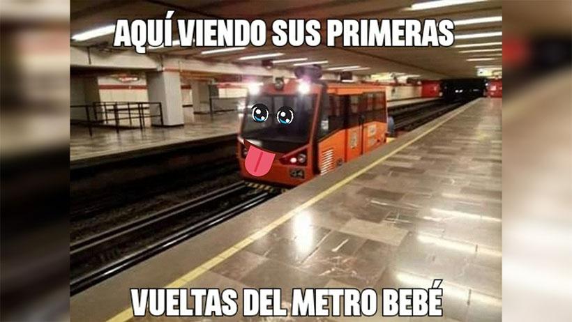 10 conmovedores memes del metro bebé que nos mató de ternura