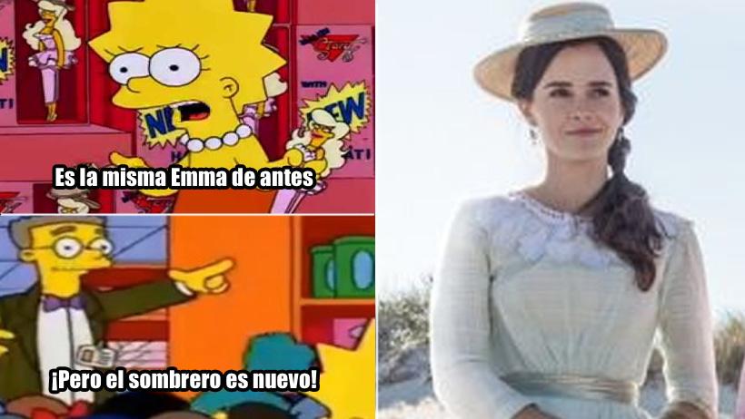 Emma Watson interpreta a Emma Watson con sombrero en nuevo trailer de Mujercitas