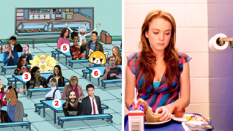 20 sanas imágenes que te harán reflexionar en qué mesa te sentarás