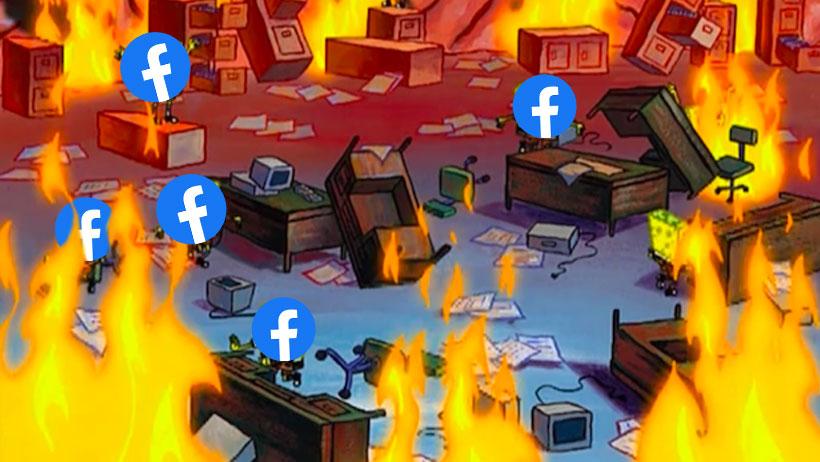 Nota de memes para verificar que Facebook volvió (y abandonar Twitter otra vez)
