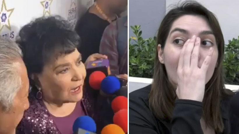 ¡Hazte a un lado Alejandra Guzmán! Carmen Salinas adopta a Frida Sofía como su hija