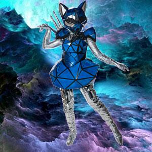 No salió de un after de Daft Punk, Gato es una princesa cósmica que vive en un fluir constante, reencontrándose con lo que la hace feliz.