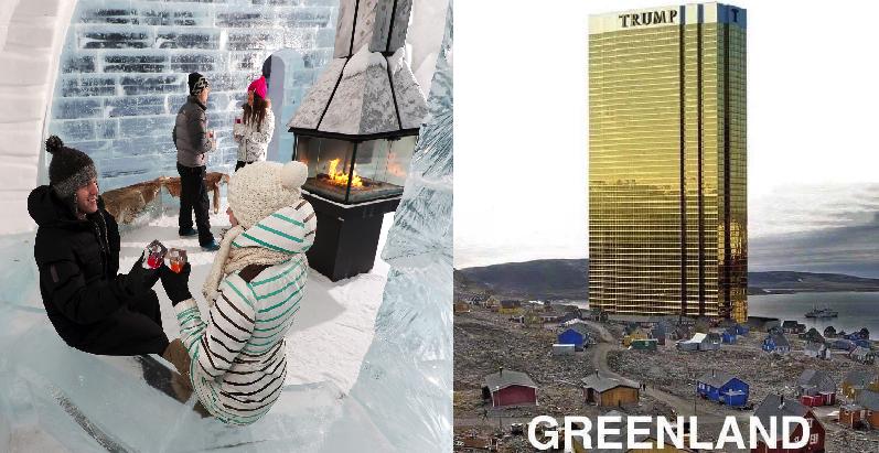 9 americanas cosas que pasarían si Trump comprara Groelandia