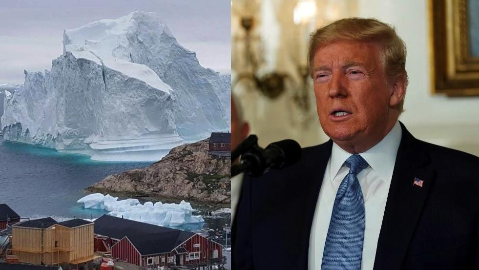 No es broma: Trump está jugando 'Turista' y ahora quiere comprar Groelandia