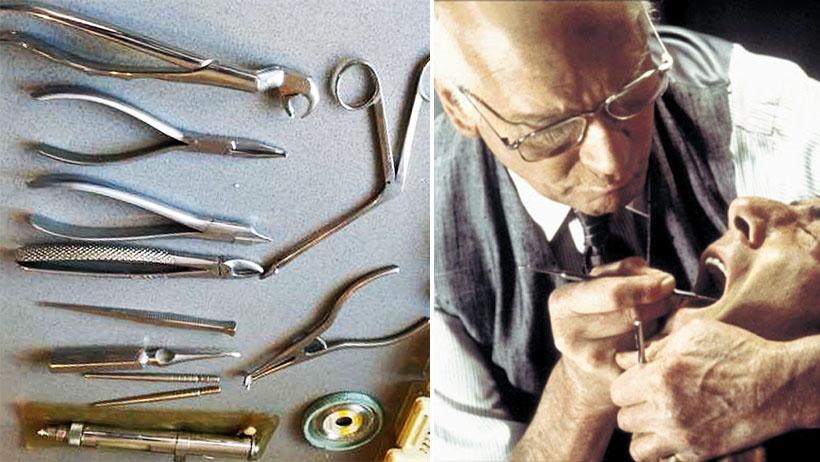 Instrumentos de odontología serán exhibidos en el Museo de la Tortura