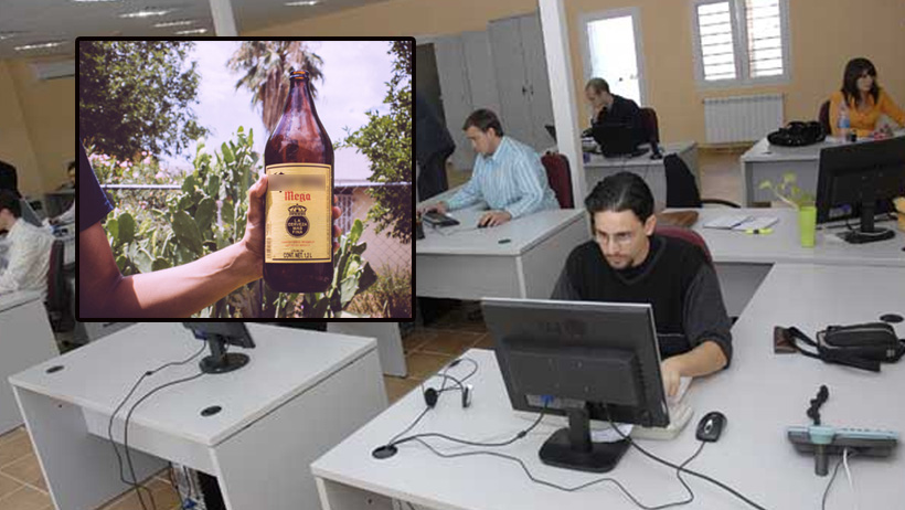 Por disposición oficial, oficinistas podrán trabajar ebrios los días juebebes