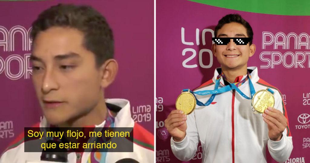 Él es el Kevin, ganó Oro en los Panamericanos, es un flojo y nos representa a todos (VIDEO)