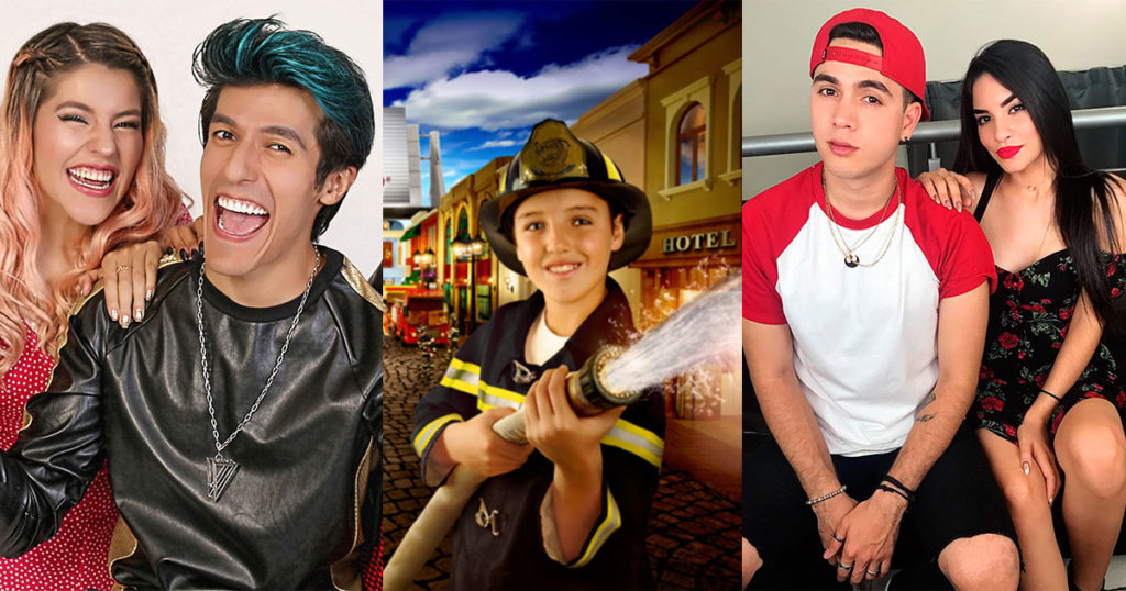 kidzania youtubers influencers