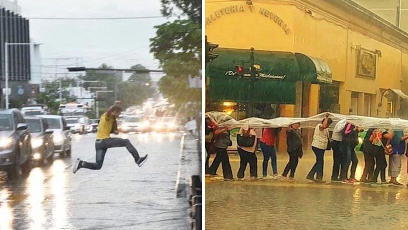 14 mágicas fotos de nuestro México en tiempos de lluvia