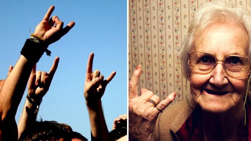 """Personas que en las fotos hagan la """"mano cornuta"""" deberán tramitar su Inapam"""