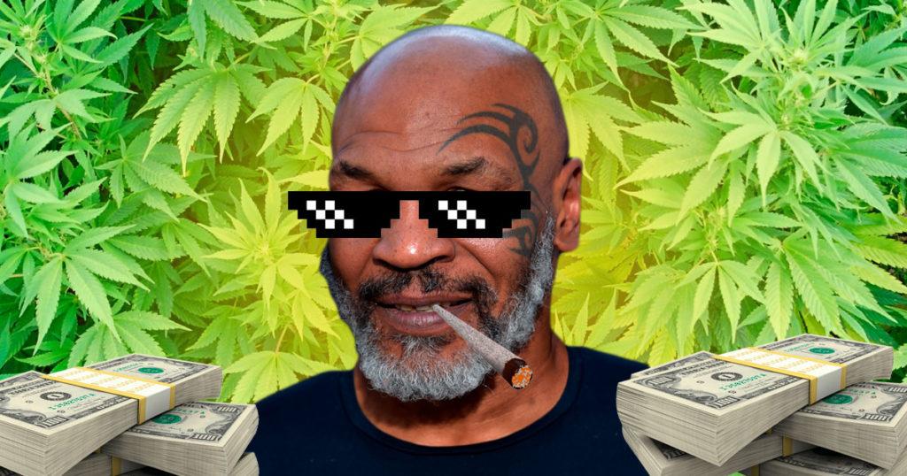 Los marihuanos no son exitoso… Mike Tyson fuma un millón de mota al mes