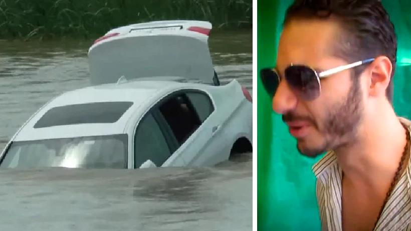 Mirrey berrinchudo nivel: Avienta su nuevo BMW al río porque él quería otro coche