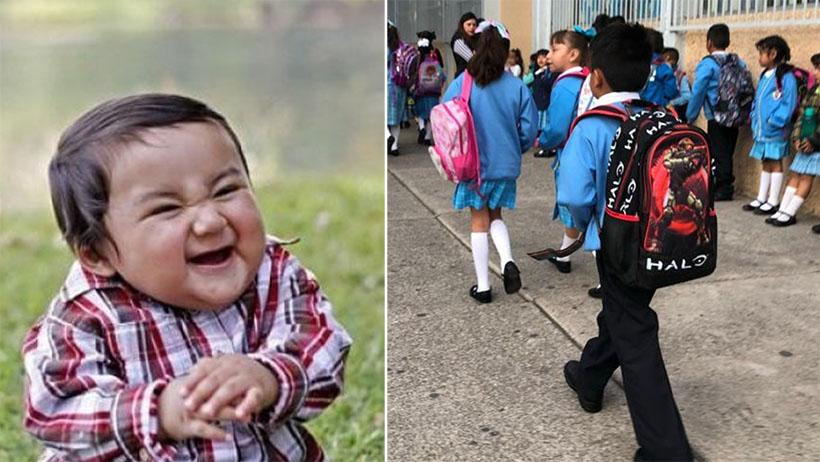 Millones de niños se preparan para perder el suéter al inicio de ciclo escolar