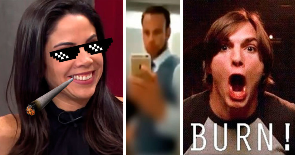Momento exacto en que Paola Rojas se burla del impresionante video de Zague