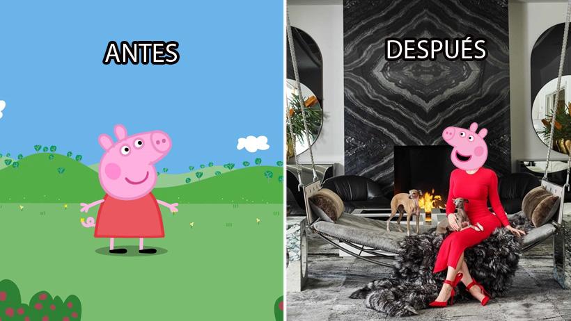 ¿Te quieres sentir puerca y adinerada? Venden a Peppa Pig por 79 mil millones de pesos