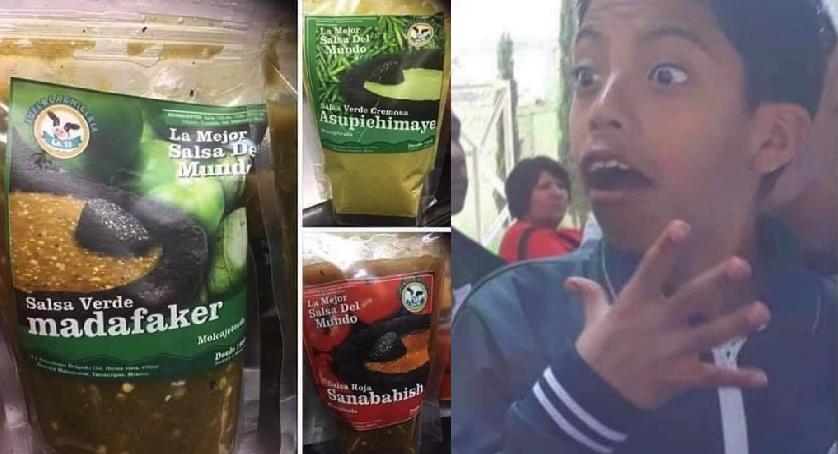 La salsa perfecta no exist… En Matamoros le pusieron estos nombres perrones al chile