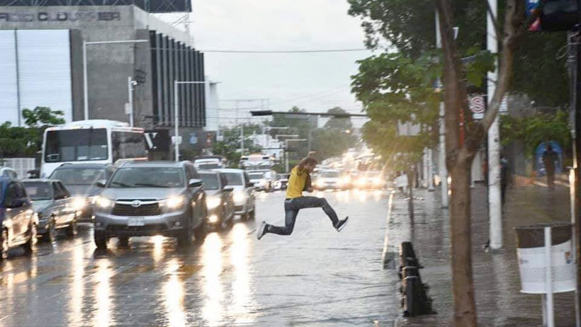México Mágico nivel: el salto de este hombre se convirtió en la mejor foto de todos los tiempos