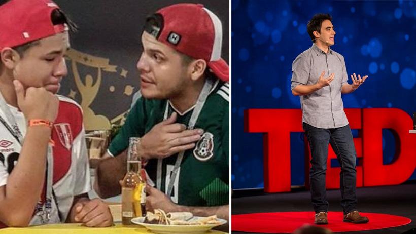 """Amigos que te aconsejen con un """"…chale"""" tendrán su propia Ted Talk"""