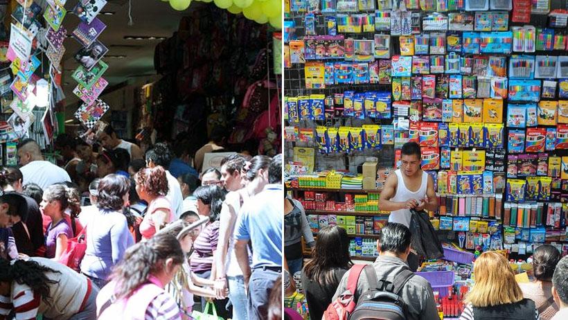 Miles de padres se preparan para comprar los útiles escolares el último día